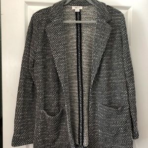 Style & Co. Relaxed Fit Knit Blazer (NWT)